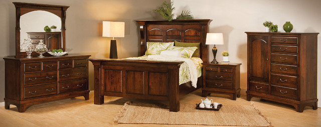 Hamilton Court Bedroom Set Traditional Bedroom Other Metro By Brandenberry Amish Furniture