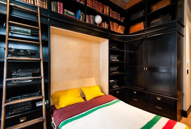 Hamilton Eclectic Industrial Eclectic Bedroom