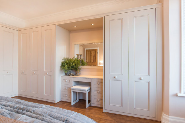 the latest c78ec 73703 Hammonds Harpsden fitted wardrobes in painted stone ...