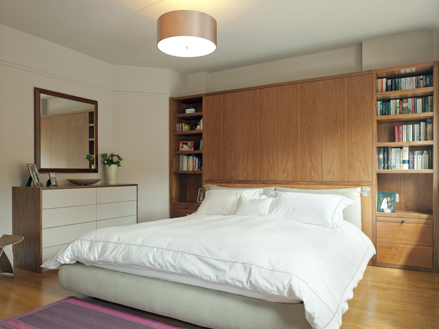 Hampstead garden suburb house arts crafts bedroom for Arts and crafts bedroom