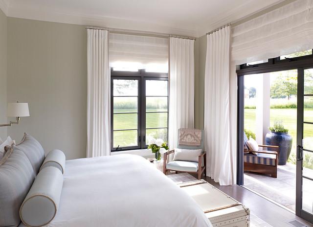 Hampton Beach House - Beach Style - Bedroom - new york ...
