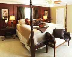 Hampton Master Bedroom eclectic-bedroom