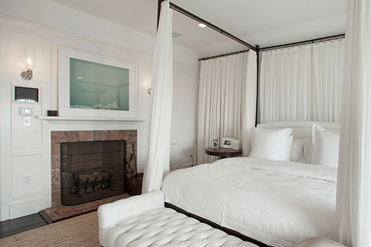 Hamptons beach house for Bedroom ideas hamptons