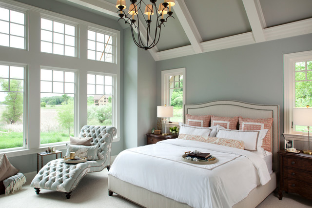 Interior Designers Decorators Hamptons Historic Residence Traditional Bedroom
