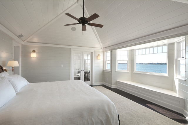 Hamptons Master Bedroom Beach Style Bedroom New York