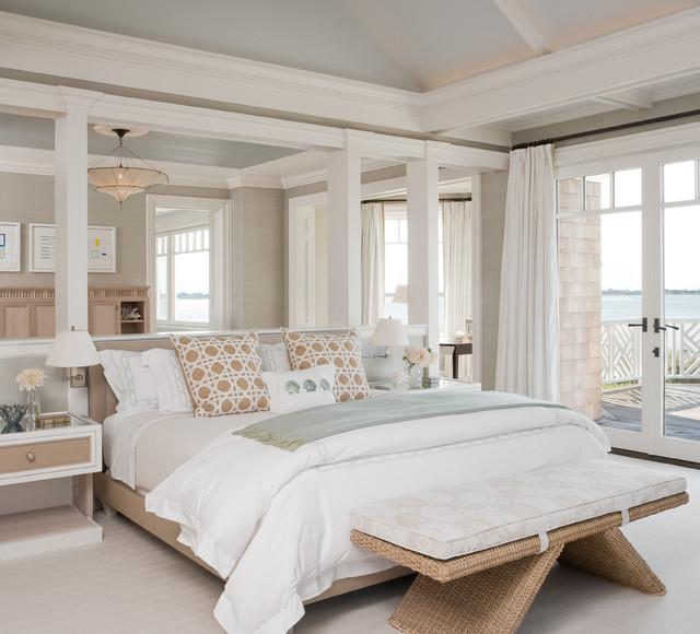 Hamptons, NY II - Beach Style - Bedroom - New York - by ...