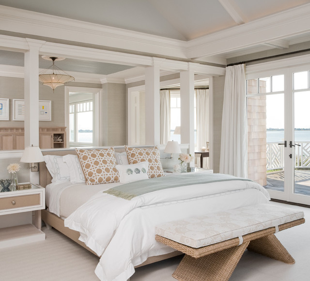 Hamptons ny ii beach style bedroom new york by for Interior design styles master bedroom