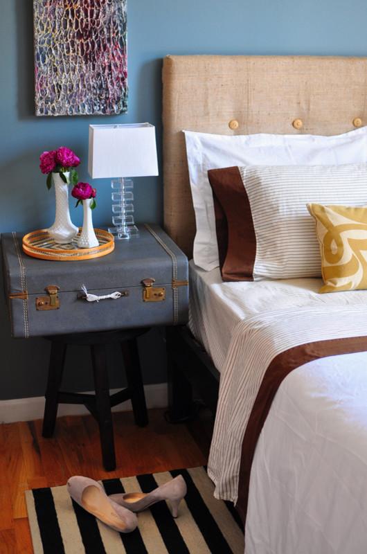 Eclectic bedroom photo in Austin