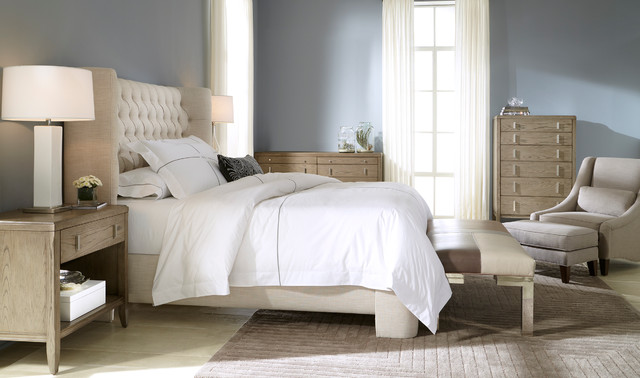 Harlowe Bed Modern Bedroom Charlotte By Mitchell
