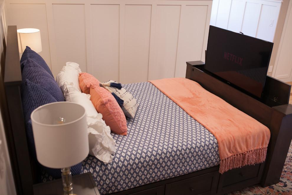 Hartford Tv Bed With Driftwood Finish Modern Bedroom Salt Lake City By Wildwood Tv Lift Furniture