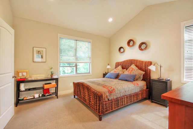 Haven Cottage beach-style-bedroom