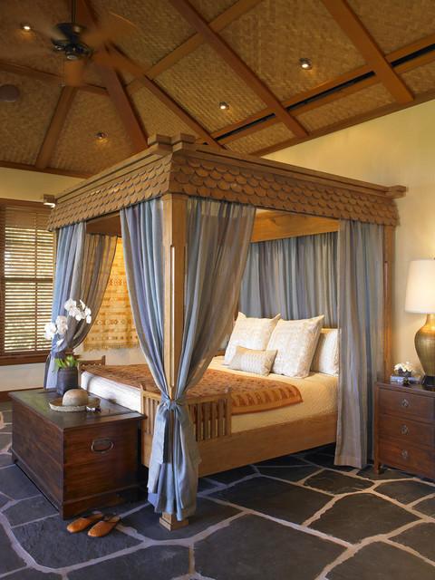 Hawaii tropical-bedroom