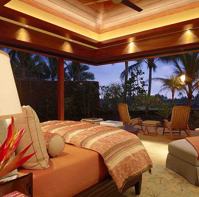Hawaii Residence tropical-bedroom