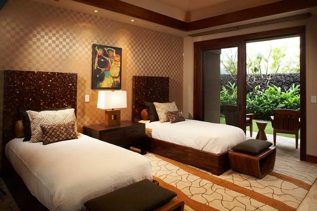 Hawaiian Retreat Bedroom tropical-bedroom