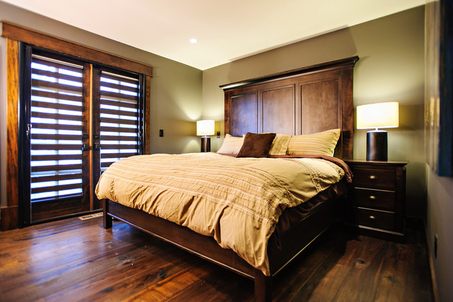 Hawser - Contemporary Rustic contemporary-bedroom