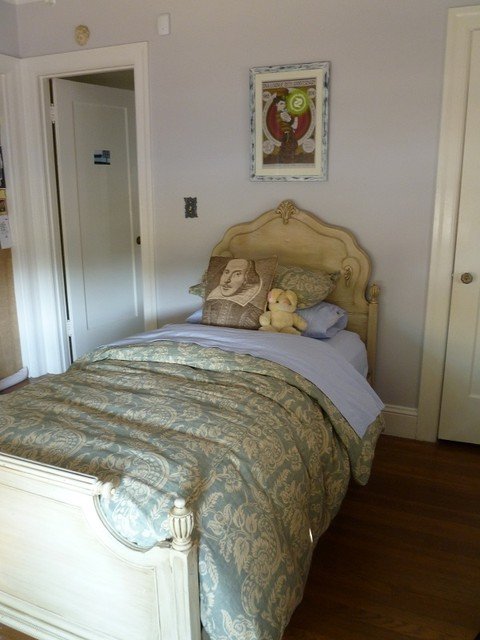 Hayward Park Teen's Room eclectic-bedroom