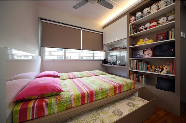 HDBHougangSingapore - Hdb bedroom design ideas