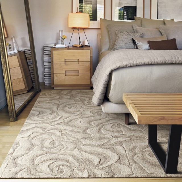 Heavy petal contemporary bedroom chicago by flor for Carpet squares for kids rooms