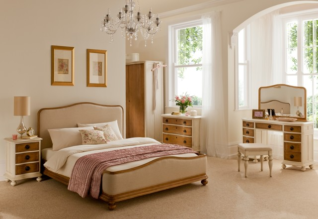 Bedroom Furniture Styles helena french style furniture - traditional - bedroom - london