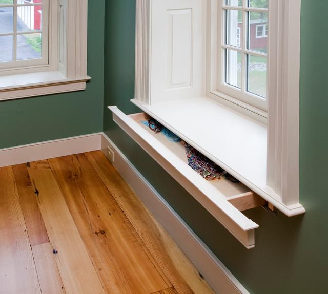 Hellertown window sill hidden drawer - Bedroom window sill ideas ...