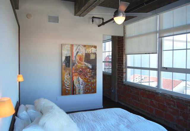 Hermann Loft contemporary-bedroom