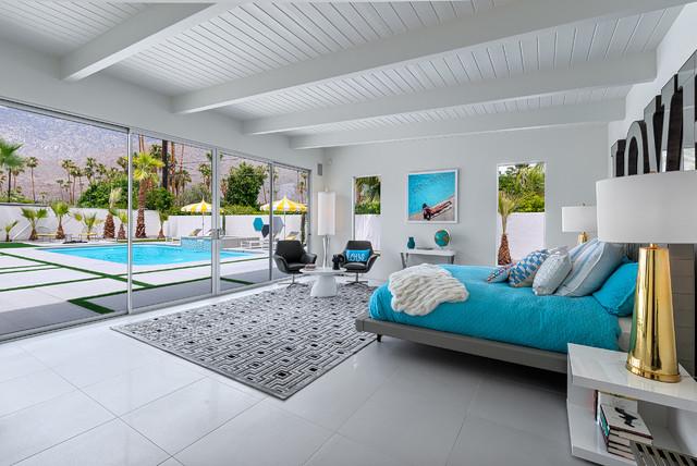Hidden desert south midcentury bedroom los angeles - Maison moderne bord de mer ...