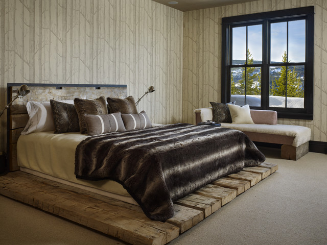 Yellowstone Residence Bedroom contemporary bedroom