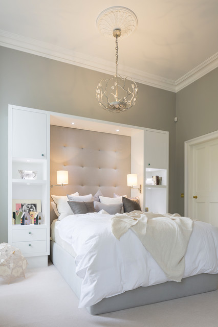 High End Bespoke Design - Apartment South Kensington London transitional-bedroom