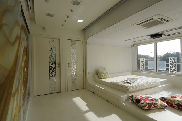 High end residential project at Neapeansea road. eclectic-bedroom