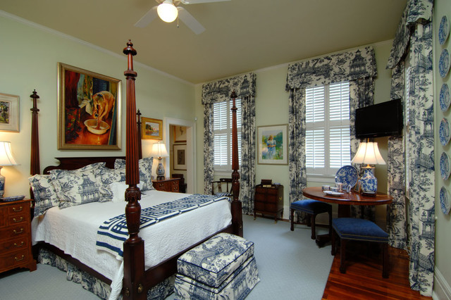 high english style in charleston traditional bedroom