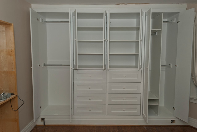 High Park Two Built In Closets Contemporary Bedroom