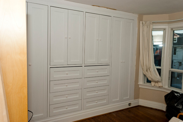 built in closets in bedroom 2