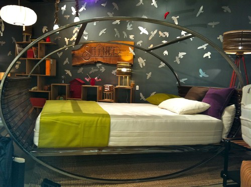 Rocking BedDesignfor a Young Adult