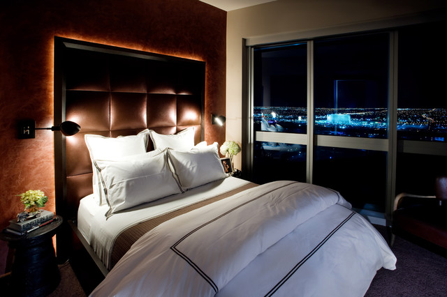 High Rise contemporary-bedroom