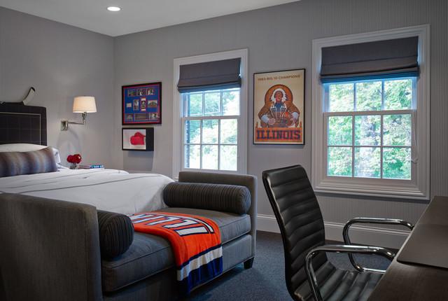 Highland Park #8 transitional-bedroom