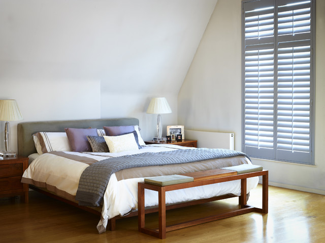 Highprofile Shutters contemporary-bedroom