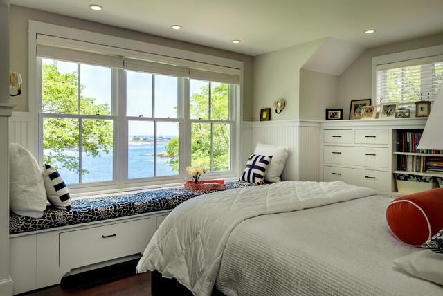 Hills beach cottage beach style bedroom portland - Bedroom furniture portland maine ...