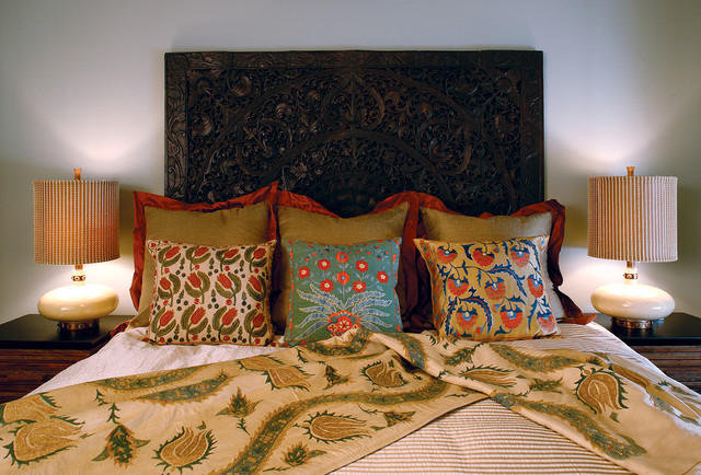 Hillside Residence - Bedroom eclectic-bedroom