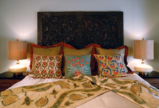 Hillside Residence - Bedroom eclectic-bedroom