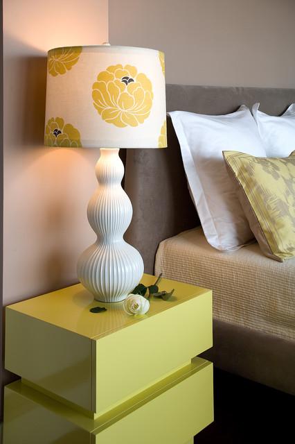 Hillside Sanctuary:  Master Bedroom by Kimball Starr Interior Design contemporary-bedroom