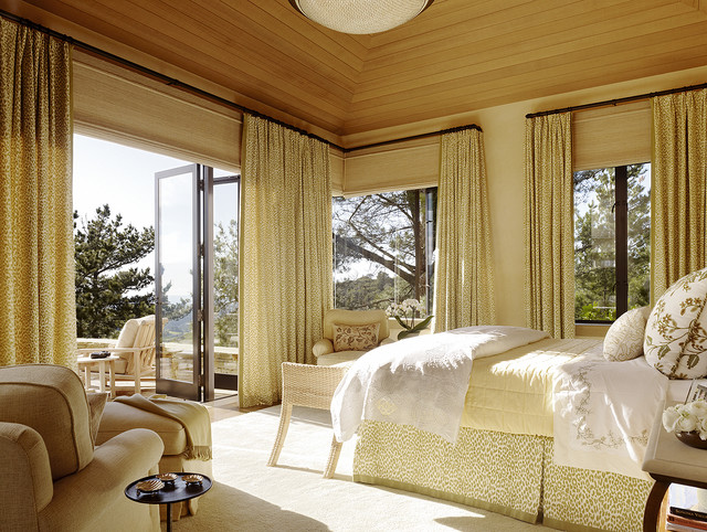Hilltop Retreat mediterranean-bedroom