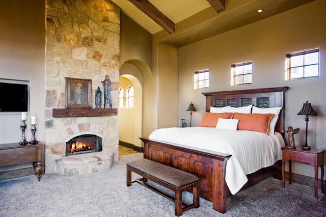 Cedar Street mediterranean-bedroom