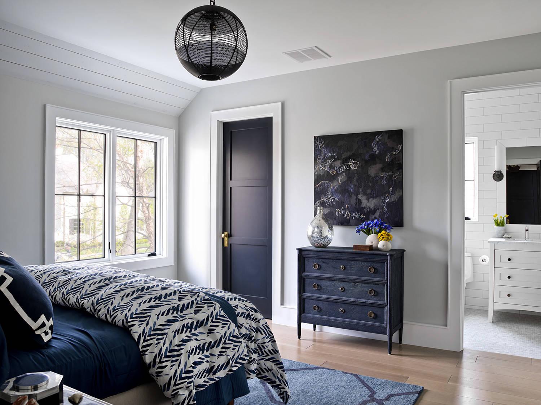 Navy Blue Bedroom Ideas And Photos Houzz