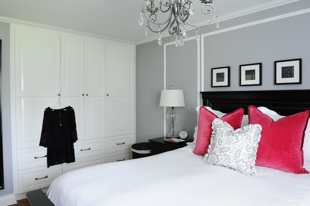 His And Hers Master Bedroom Traditional Bedroom