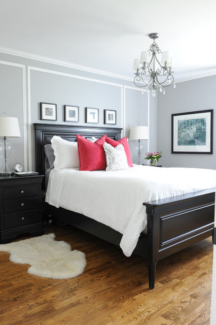 Beau His And Hers Master Bedroom Traditional Bedroom