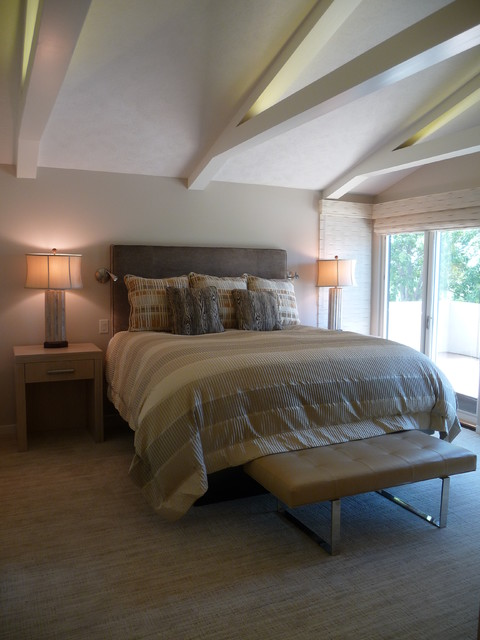 His Amp Hers Master Suites Modern Bedroom Omaha By