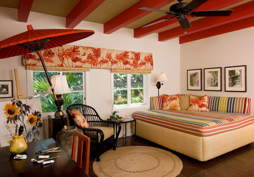 Hawaiian interior design historic charles dickey house for Designing interiors inc