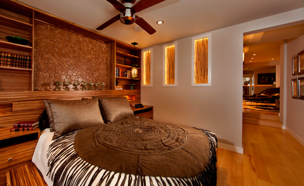 Inspiration for a southwestern bedroom remodel in Albuquerque