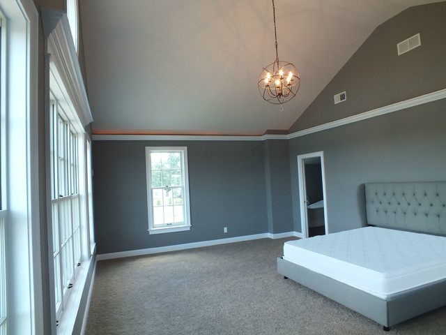Historic renovation traditional bedroom cleveland for Accents salon chagrin falls