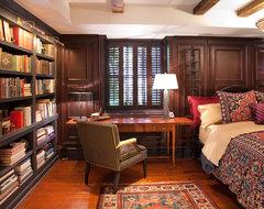 Historic Schoolhouse Loft traditional-bedroom